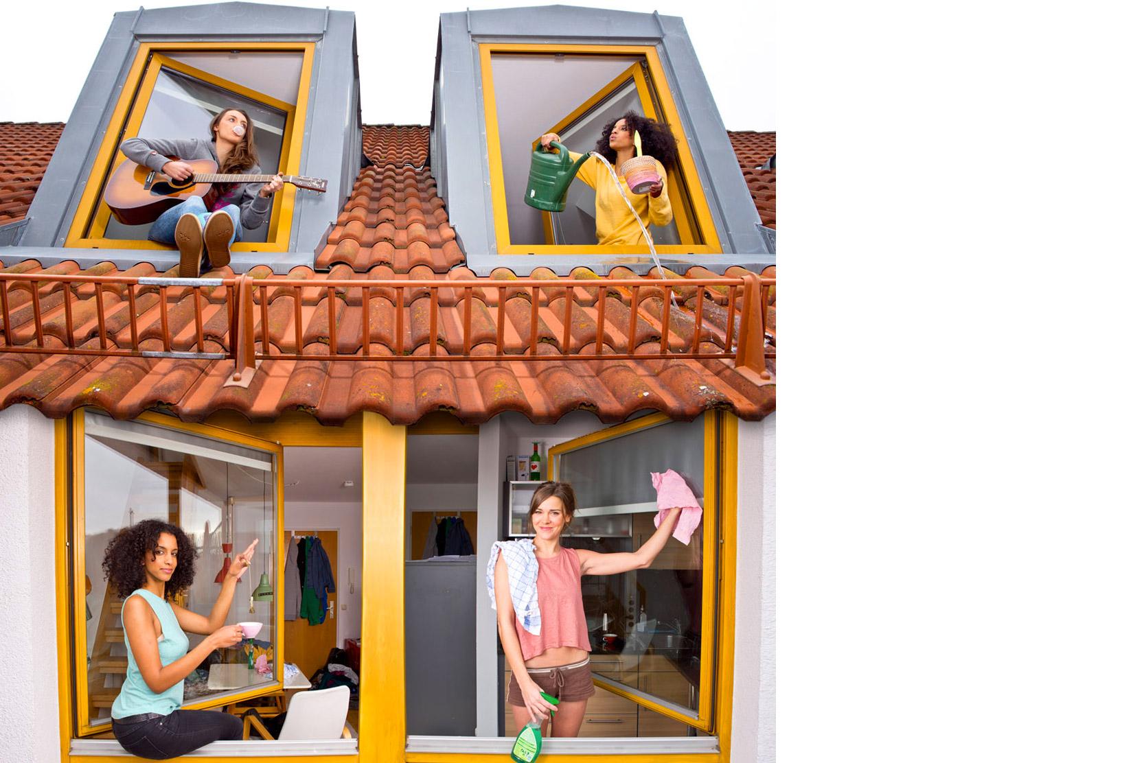 hallo nachbarn hier sind wir liebe nachbarn. Black Bedroom Furniture Sets. Home Design Ideas