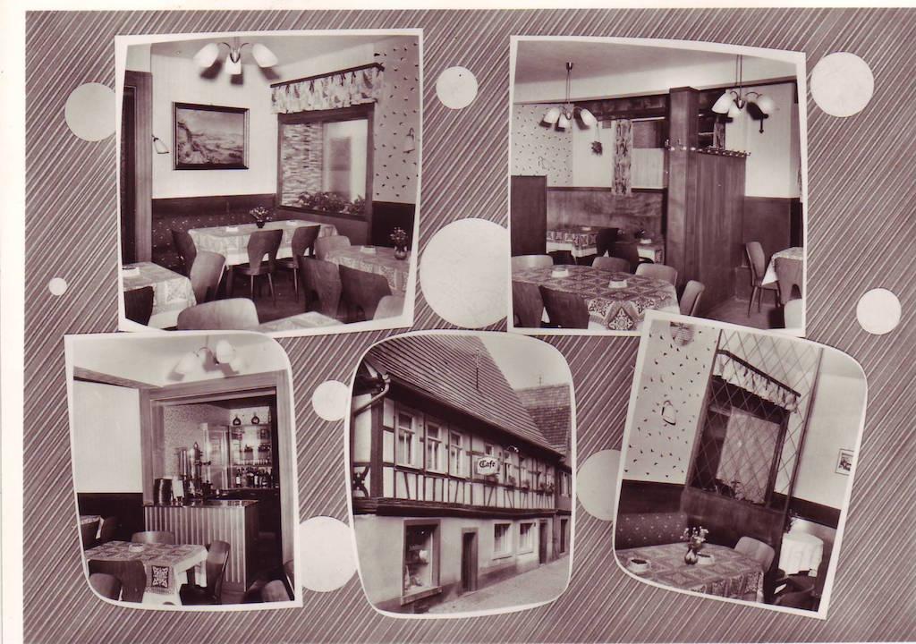 Postkarte vom Cafe Kehl von 1950